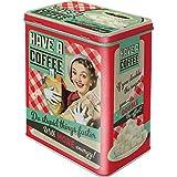 Nostalgic Art Retro L Vorratsdose, Große Kaffee-Dose aus Blech, Say it 50's - Have A Coffee, 3 l
