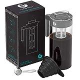 Coffee Gator Cold Brew Kaffeemaschine – BPA-freier Filter und Glaskaraffe – Brühsatz mit...