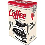 Nostalgic-Art Retro Kaffeedose - USA - Strong Coffee Served Here, Blech-Dose mit Aromadeckel,...