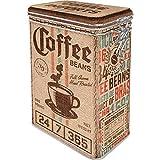 Nostalgic-Art Retro Kaffeedose Coffee Sack – Geschenk-Idee für Kaffee-Liebhaber, Blech-Dose mit...