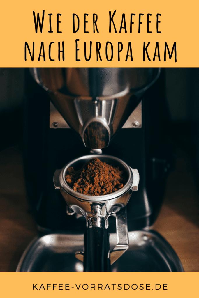 Wie der Kaffee nach Europa kam