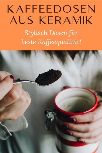 Kaffeedosen aus Keramik Pinterest